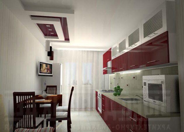 Кухни интерьер и дизайн 12 кв.м