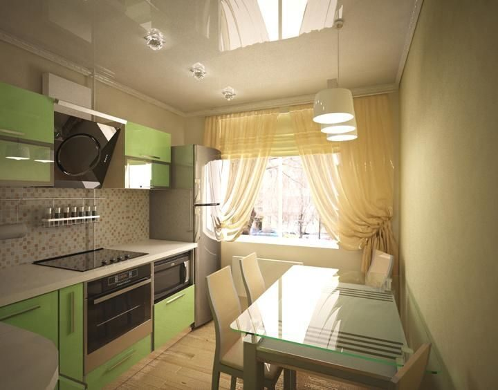 Кухни на 12 кв.м фото дизайн с