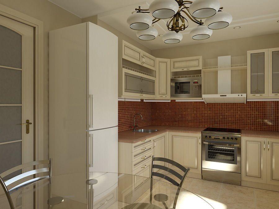 Дизайн кухни 8 квадратов