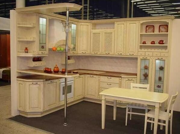 Кухни из ясеня фото