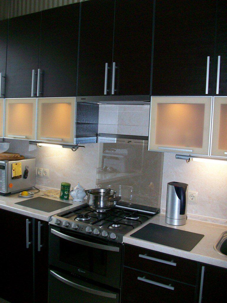 Кухня черная кухня черная кухня
