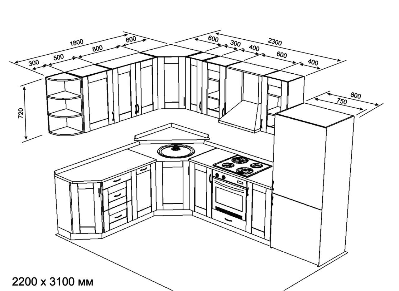 И дизайн интерьера кухни в фото и