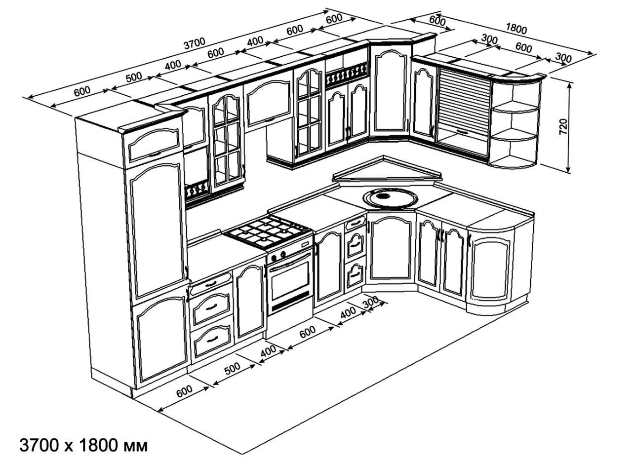 Кухонный гарнитур/мебель своими руками: шкафы, схемы 76