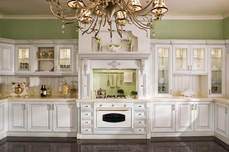 Элитные белые кухни