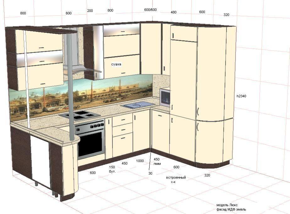 Как создать свой дизайн кухни