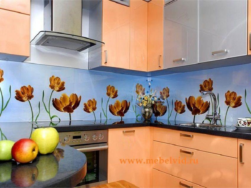 Как можно сделать фартук на кухне кроме плитки 179