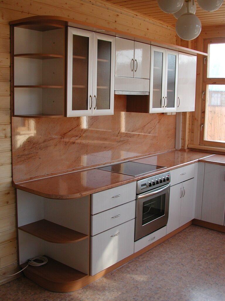 Кухни для дачи из пластика