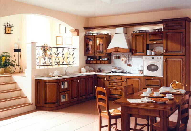 Кухня классическая соренто кухня