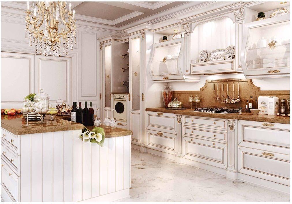 Кухня из массива ясеня Видная Мебель3