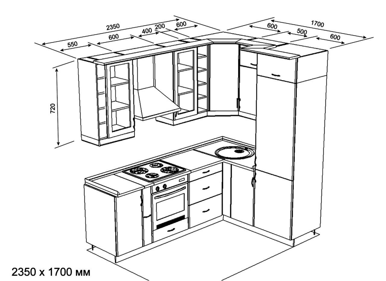 поспорит, эскизы кухонь с размерами фото решили прокатиться